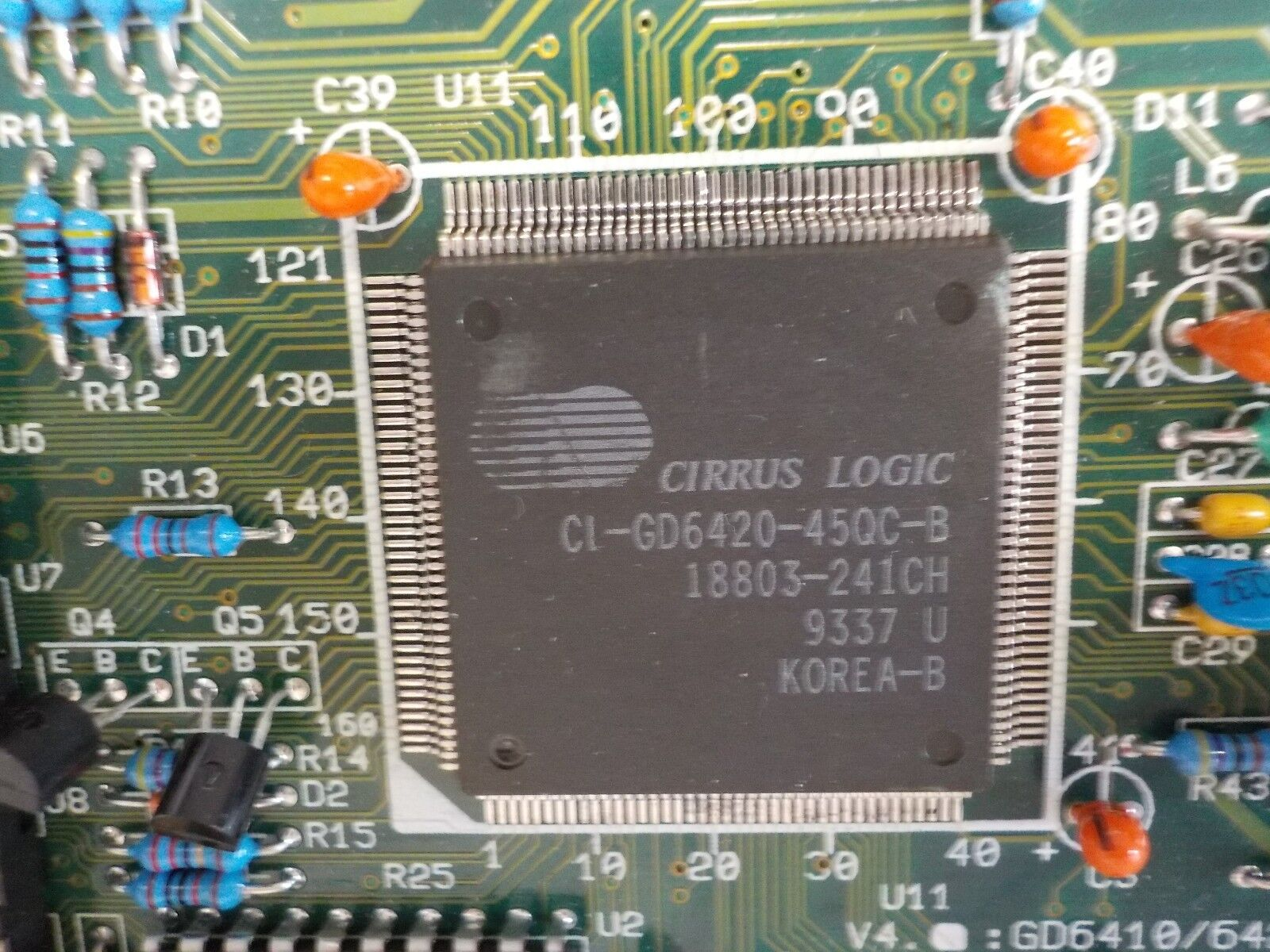 Cirrus Logic Cl Gd6420 45qc B Card Circuit Board Clgd642045qcb Ebay Photo Interrupter For Digital Norton Secured Powered By Verisign