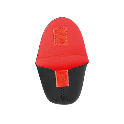 DxH Red//Black 3MM Neoprene Camera Lens Case Lens Bag Sleeve 55mmx65mm Small