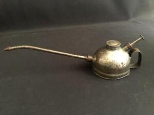 PUMP SPRAY OIL CAN OILER Nº112 STEAM ENGINE TRACTOR MACHINE MOTORCYCLE BICYCLE