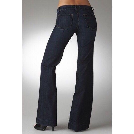"J Brand Monroe 22"" Flare Leg Mid Rise Jeans Size 28"
