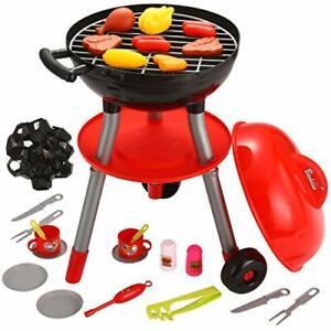 24 pcs Petit Chef Barbecue BBQ Cuisine Cuisine Jouet interactif Grill Play