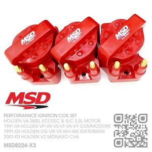 MSD-IGNITION-COILS-V6-SUPERCHARGED-3-8L-HOLDEN-VS-VT-VY-COMMODORE-V2-MONARO