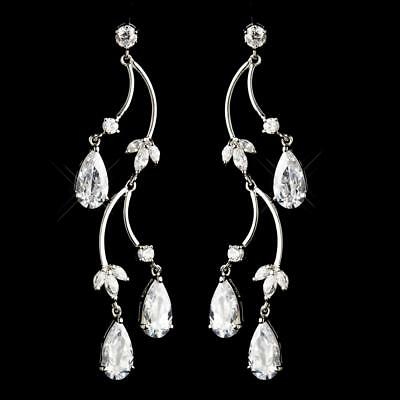 Expressive Hadley's Earrings Engagement & Wedding Bridal/prom Jewelry Unequal In Performance Bridal & Wedding Party Jewelry