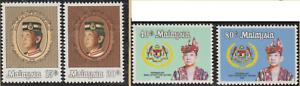 114-MALAYSIA-1984-INSTALLATION-OF-AGONG-SET-4V-FRESH-MNH-CAT-RM-17