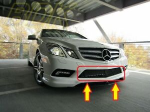 Nuevo-Genuino-Mercedes-MB-Clase-E-W207-Coupe-AMG-Parachoques-Delantero-Parrilla-Inferior-Centro