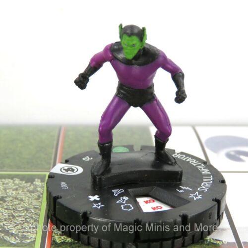 Fantastic Four ~ SKRULL INFILTRATOR #007 HeroClix miniature #7