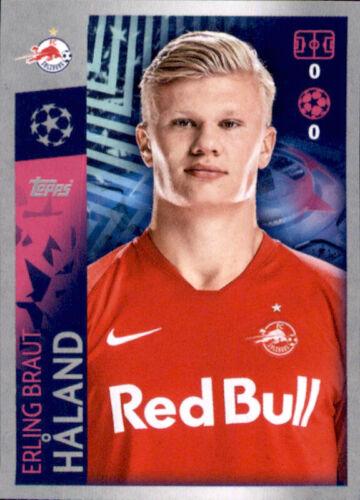 Champions League 19 20 2019 2020 Sticker 419 Erling Braut Haland FC Salzburg
