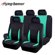 Car Seat Covers set washable lady truck SUV black mint blue bench split 40 60