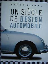 livre 100 ANS DESIGN AUTOMOBILE CARROSSERIE / NOMBREUSES PHOTOS / français