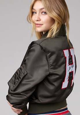 TOMMY HILFIGER X GIGI HADID, Bomber jacket patches, xs | eBay