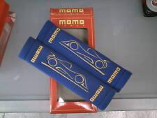 Coppia cuscinetti copricintura MOMO blu in microfibra