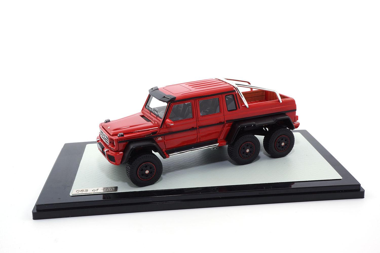 Peako Mercedes-Benz g63 AMG-Red - 1 43