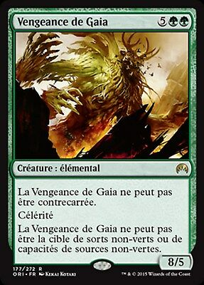 Antienne de Gaia MRM ENGLISH Gaea/'s Anthem MTG magic MM17