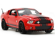 SHELBY COLLECTIBLES 1:18 2012 SHELBY GT500 SUPER SNAKE NEW DIECAST RED