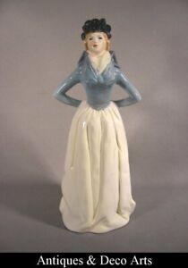 Goebel Rare Porcelain Figurine Lady impatience 1800