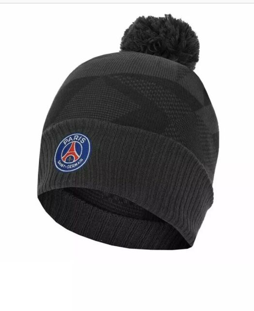 Nike Psg Paris Saint Germain Winter Knit Beanie Hat One Size 894372 060 For Sale Online Ebay