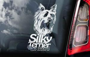 Setosa-Terrier-On-Board-Auto-Finestrino-Adesivo-Australiano-Yorkie-Segno