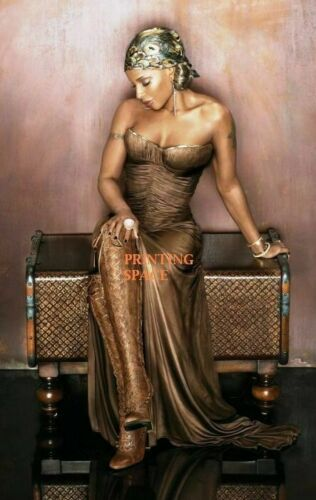 MARY J BLIGE Hollywood Celebrity Poster TV Movie Poster 24 in by 36 in 3