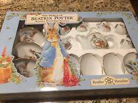 The World of Beatrix Potter Kinder Porzellan 17-piece Mini Tea Set NIB - Germany