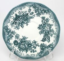 Wedgwood Enoch - Asiatic Pheasants - Green - Saucer - Made in England