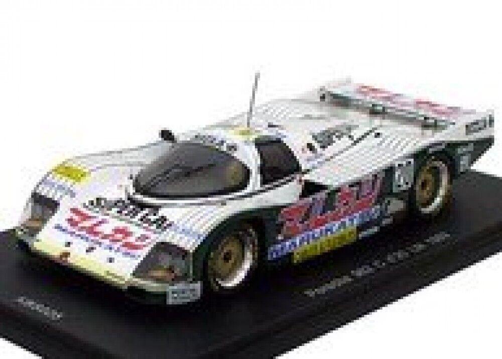 Nueva base de conocimiento modelo Spark 1 43 Porsche 962C 1989 Le Mans KBS025 de Japón F S