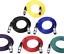 Cavo-XLR-microfono-piombo-maschio-a-XLR-DONNA-NERO-BLU-ROSSO miniatura 1