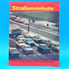 Der Deutsche Straßenverkehr 12/1982 Citroen BX CSSR-Camping Lada Großraumtr. H