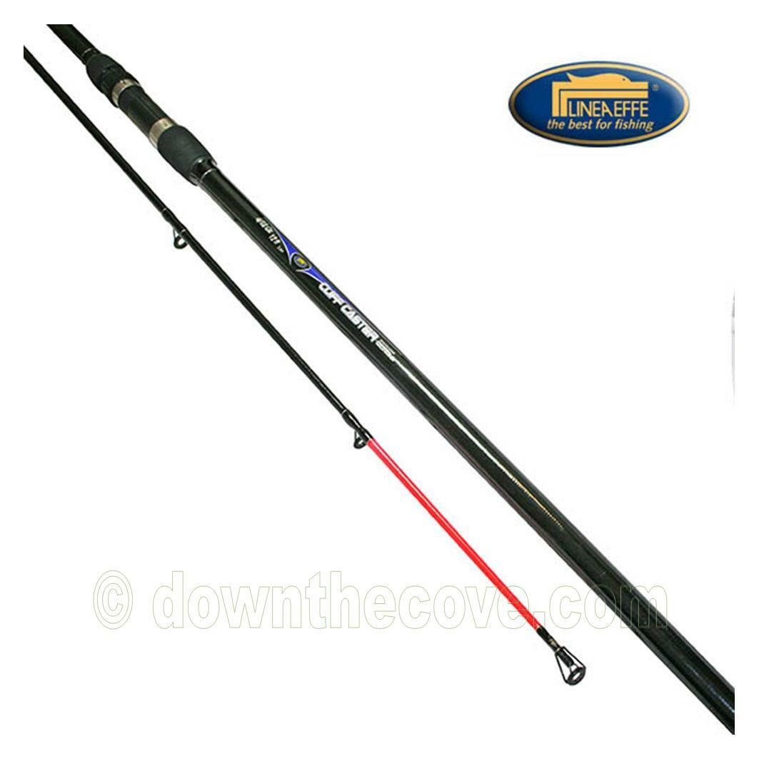 Lineaeffe Cliff Cast Carbon 12ft 2pc 4-12oz Beachcaster Sea Rod