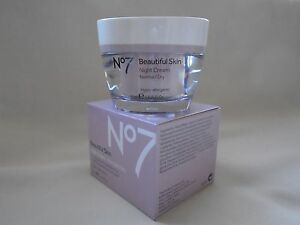 BOOTS No7 Beautiful skin NormalDry energising night cream moisturiser 50 mls - <span itemprop=availableAtOrFrom>Nottigham, Nottinghamshire, United Kingdom</span> - BOOTS No7 Beautiful skin NormalDry energising night cream moisturiser 50 mls - Nottigham, Nottinghamshire, United Kingdom