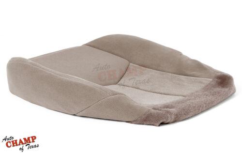 Driver Side Bottom Cloth Seat Cover Tan 2003-2007 GMC Sierra SLE Z71 HD