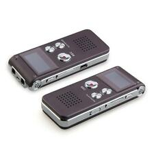 8GB Dittafono Registratore Vocale 8G Lettore MP3 Audio Telefonico Voice Recorder