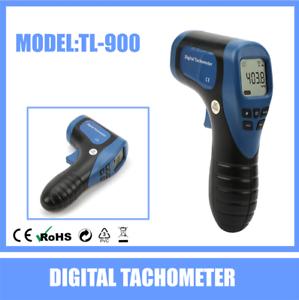 Non-contact-Digital-Laser-Tachometer-RPM-Revolution-Car-Motor-Speed-Tester