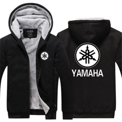 New For Yamaha Warm Thicken Hoodie Sweatshirt Fleece Coat Jacket Team Off Road