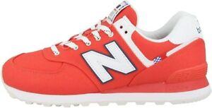 New-Balance-574-sol-Sneaker-da-Uomo-Colore-Rosso-ML574SOL-RED-W-SCARPA