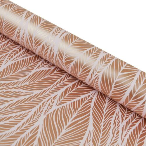 Holden Decor Mora Feather Wallpaper Statement Dusky Pink Rose Gold Metallic