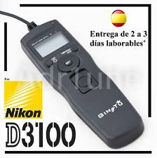 Intervalometro y disparador para Nikon D3100, remoto, camara digital, objetivo