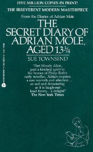 The Secret Diary Of Adrian Mole, Aged 13 3/4 Townsend, Sue Mass Market Paperbac - $5.39