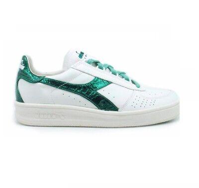 Diadora Heritage B Elite Liquid, Sneakers Scarpa Uomo in Pelle Bianca   eBay