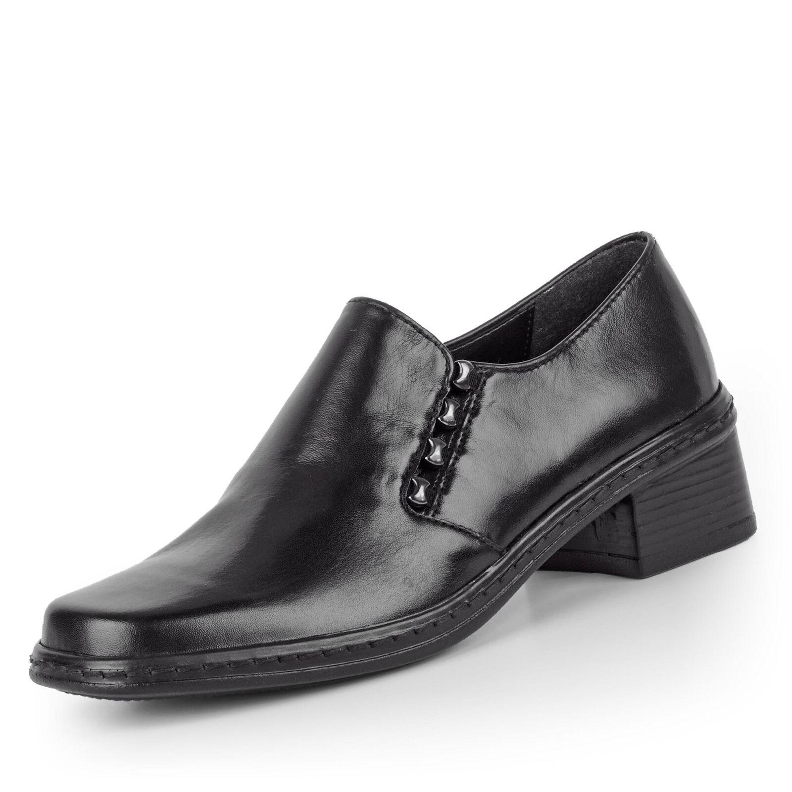 ROMIKA Tabea 17 Damen Slipper Schwarz Schuhe in