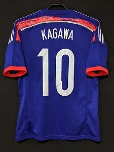 2014-15 JAPAN  Home Jersey Soccer Shirt adidas M(Japan Size) SHINJI KAGAWA