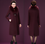 Winter-Elegant-Women-Cashmere-Wool-Blend-Trench-Overcoat-Fur-Collar-Long-Coats thumbnail 8