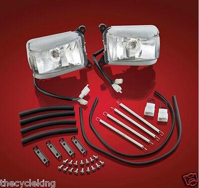 Flush Mounted Chrome Plated Fork Light Set Honda Goldwing GL1500