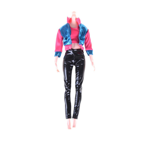 1Set Fashion Outfit Casual Daily Travel Pant Clothes For  Doll Accessor Bd
