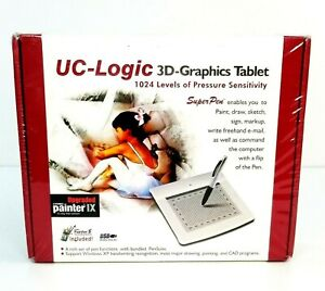 Computers/tablets & Networking Graphics Tablets/boards & Pens Uc-logic 3d Graphics Tablet W Cordless Pen Model Wp5540 U Brand New Sealed Nourishing The Kidneys Relieving Rheumatism