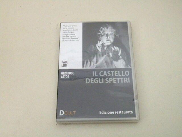 IL CASTELLO DEGLI SPETTRI - PAUL LENI - DVD 1927 ZONA 2 PAL - NUOVO/NEW