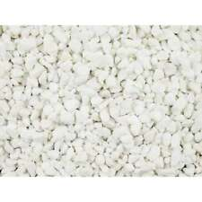 decorative aggregates polar white marble chippings 10mm 25kg bag
