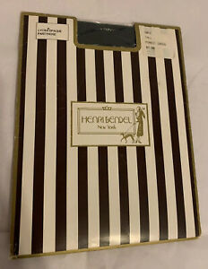 Henri-Bendel-VINTAGE-NEW-Lycra-Opaque-Pantyhose-Tall-Forest-Green