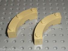 LEGO tan brick round corner ref 48092 / set 70146 4757 9516 4753 60008 41051...