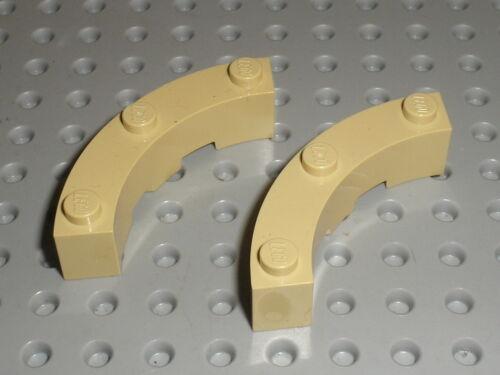 Lego tan brick round corner ref 48092//set 70146 4757 9516 4753 60008 41051...