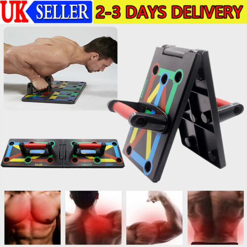 2020 Push-up Board Rack Chest Back Muscle Fitness Workout Pushup Press Stands
